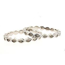 Hidalgo 18K White Gold Ring Size 5.5