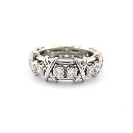 Tiffany & Co. Ring Platinum Diamond Size 6.5