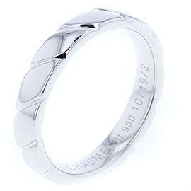 Chaumet Torsard Platinum Ring Size 8.25