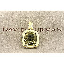 David Yurman Albion Sterling Silver Lemon Lime Citrine Pendant