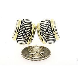 David Yurman Cable Sterling Silver Earrings