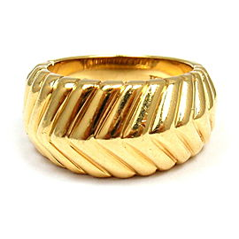 Tiffany & Co. 18K Yellow Gold Ring Size 4