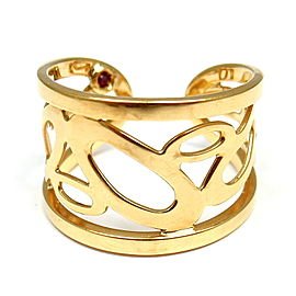 Roberto Coin Chic 18K Yellow Gold Ring Size 6.25