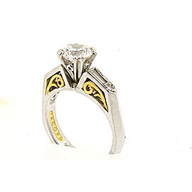 Tacori 22k Platinum Diamond Engagement Ring Size 6.25