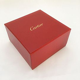 Genuine MINT Cartier Presentation Love Outer Bracelet Box Red