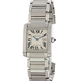 Cartier Tank Francaise 2465 25mm Womens Watch