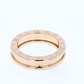 Bulgari 18K RG Be Zero One Ring