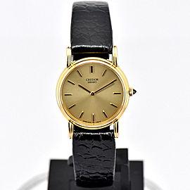 Seiko Credor 1400-0430 24mm Womens Watch