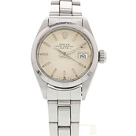 Rolex Date 6519 Vintage 26mm Womens Watch