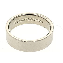 Tiffany & Co. Platinum Wedding Ring Size 8.5