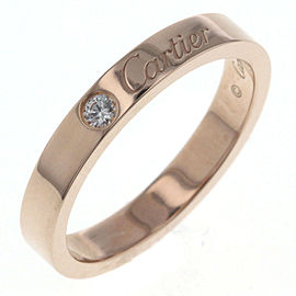 Cartier 18K Rose Gold Diamond Ring
