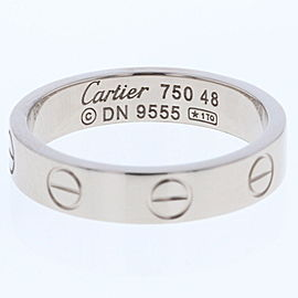 Cartier 18K White Gold Ring