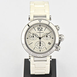 Cartier Pasha Sea Timer W3140005 37mm Unisex Watch
