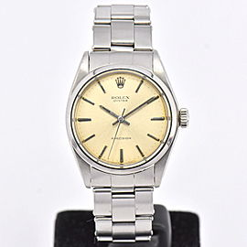 Rolex Oyster Precision 6426 34mm Womens Watch