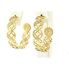 John Hardy 18K Yellow Gold Earrings