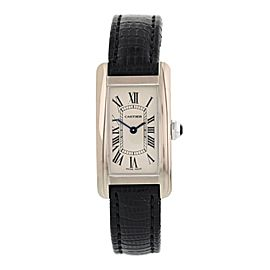 Cartier Tank Americaine 2489 19mm Womens Watch