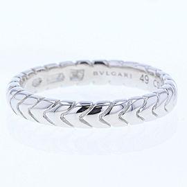 Bulgari Platinum Spiga Ring