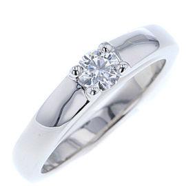 Bulgari Platinum Diamond Engagement Ring