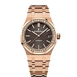 Audemars Piguet Royal Oak 15451OR.ZZ.1256OR.04 37mm Womens Watch