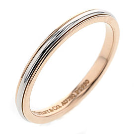 Tiffany & Co. 18K Rose Gold Classic Band Ring