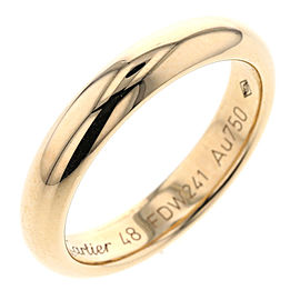 Cartier Classic 18K Yellow Gold Wedding Ring