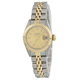 Rolex Date 69173 Vintage 26mm Womens Watch