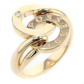 Piaget 18K YG/SS Ring Size 7