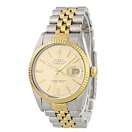 Rolex Oyster Perpetual Datejust 16013 36mm Mens Watch