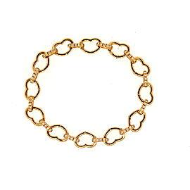 Aaron Basha 18K Rose Gold Diamond Bracelet