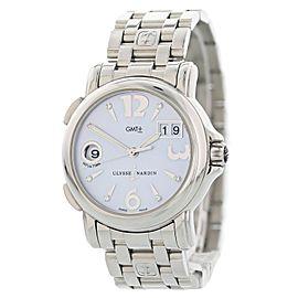 Ulysse Nardin Big Date GMT 223-22 Mother of Pearl Ladies Watch