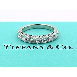 Tiffany & Co. Platinum Diamond Ring Size 7.5