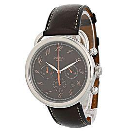 Hermes Arceau AR4.910 Chronograph Date Mens Watch