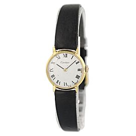 Vintage Cartier Paris 18K Yellow Gold Ladies Watch