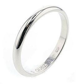 CARTIER Platinum Classic Wedding Ring Size 6.75