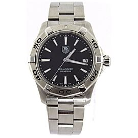 TAG HEUER WAP1110.BA0831 AQUARACER SWISS QUARTZ MENS BLACK WATCH