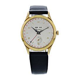 Breitling Datora triple calendar 140 20 Vintage Mens Watch