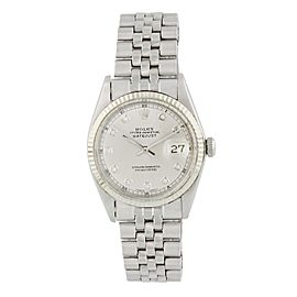 Rolex Datejust 1601 Diamond Dial Mens Watch