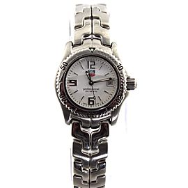 iTAG HEUER LINK PROFESSIONAL WT1414.BA0560 WHITE QUARTZ LADIES SWISS DIVER WATCH