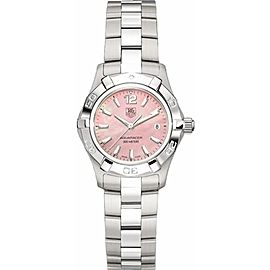 TAG HEUER WOMENS AQUARACER WAF1418.BA0823 SWISS QUARTZ PINK WATCH