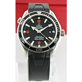 AUTHENTIC OMEGA SEAMASTER PLANET OCEAN 2901.51 CO-AXIAL ORANGE RUBBER WATCH