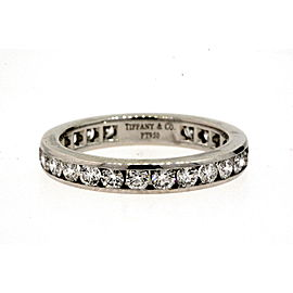 Tiffany & Co. Diamond Channel 1ct Band Ring Full Circle Eternity 3mm