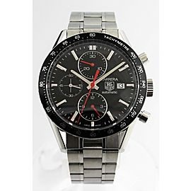 TAG HEUER CARRERA CV2014.BA0794 CHRONOGRAPH AUTOMATIC STEEL WATCH