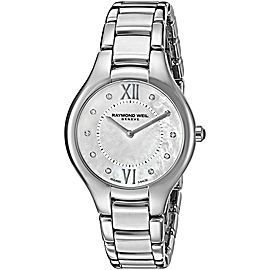 RAYMOND WEIL NOEMIA 5132-ST-00985 DIAMOND PEARL LADIES SWISS WATCH