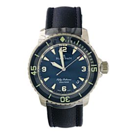 Blancpain Fifty Fathoms 5015-12B40-O52A Mens Watch