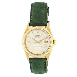 Rolex Datejust 1601 18K Yellow Gold Vintage Watch