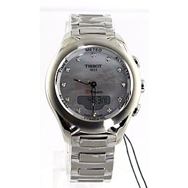TISSOT T-TOUCH T075.220.11.106.00 DIGITAL PEARL DIAMOND LADIES WATCH