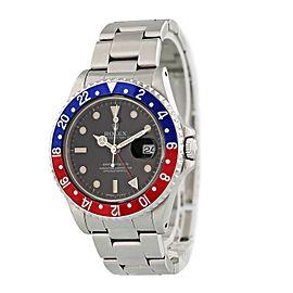 Rolex GMT Master Date 16700 Pepsi Bezel Mens Watch