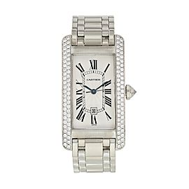Cartier Tank Americaine W2603656 / 1726 Large Size Watch