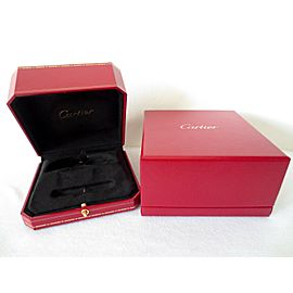 Authentic Genuine New Model Cartier Presentation Love Bracelet Box Red