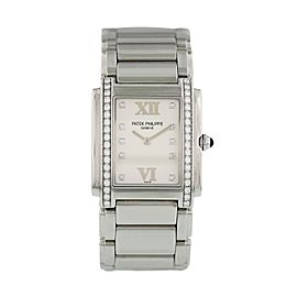 Patek Philippe Twenty-4 4910/10A Ladies Diamond Watch